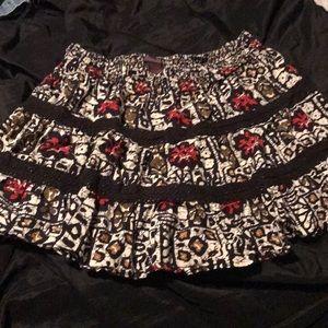 Women's Fire skirt size large